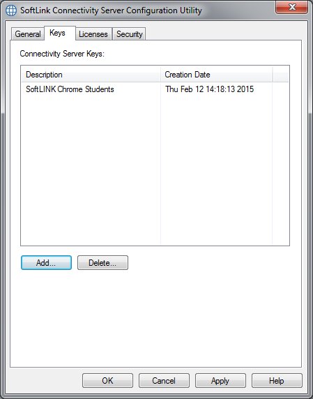 SoftLINK Classroom Management Software Name & Connectivity Server Keys