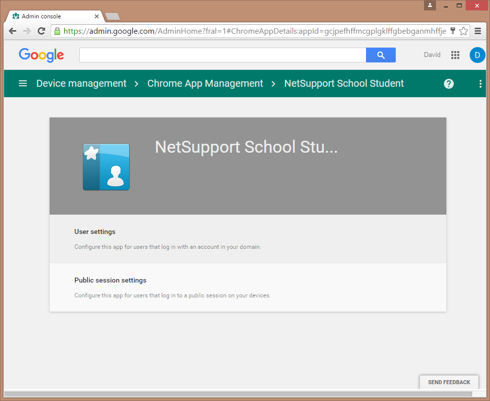 Google Admin Console School Student Extension