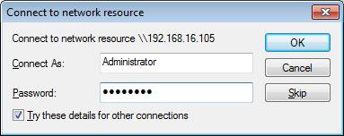 SoftLINK Deploy Administrator Credentials